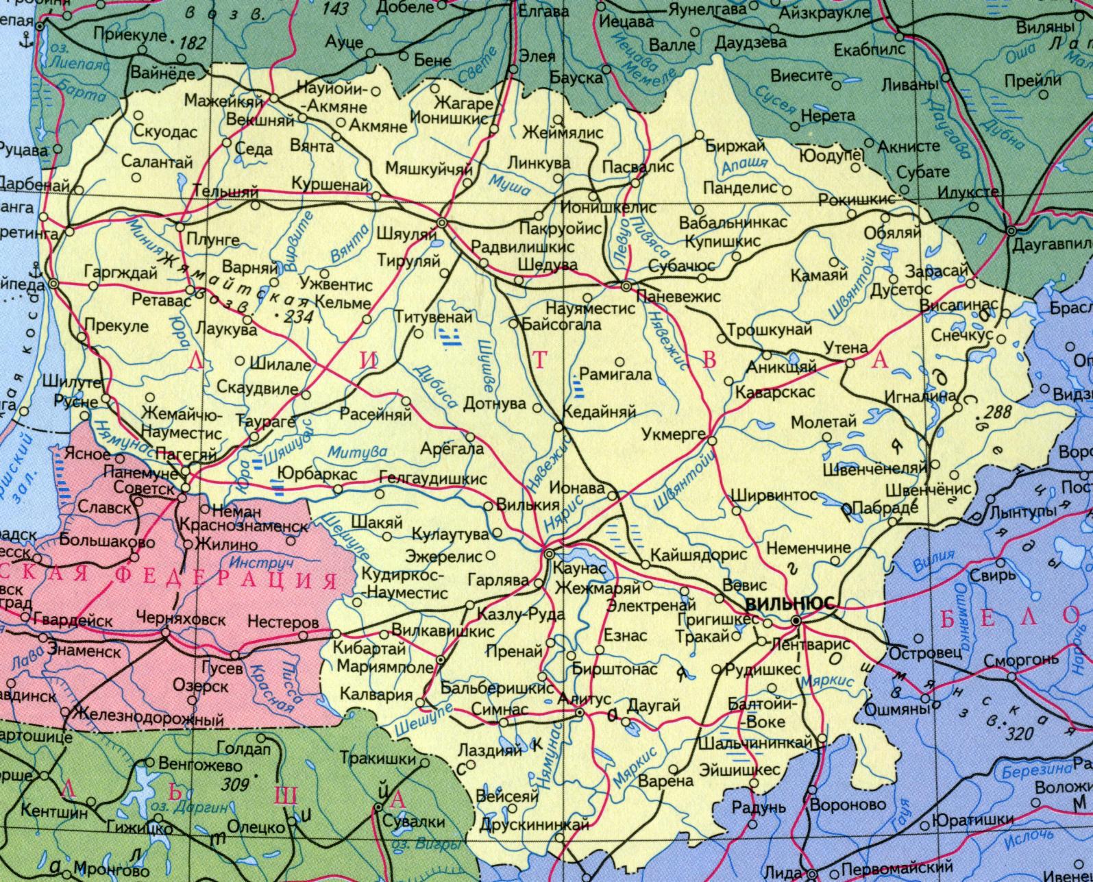 Gps Карта Европы