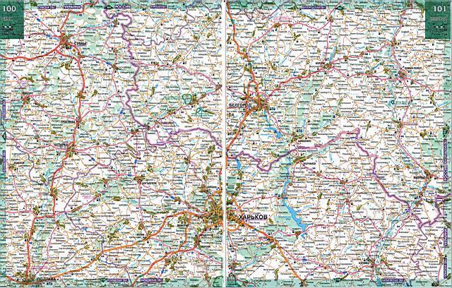 Карты автодорог России