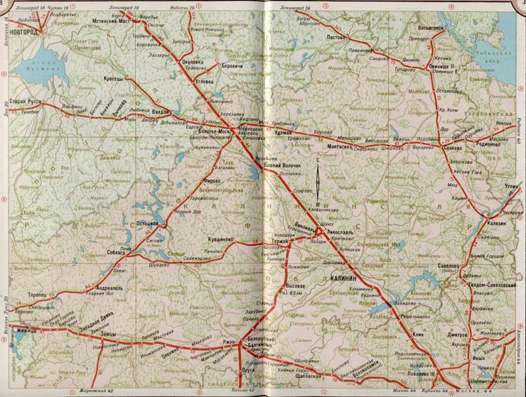 Скачать карты жд дорог, россии бесплатно:Дальневосточная, Горьковская
