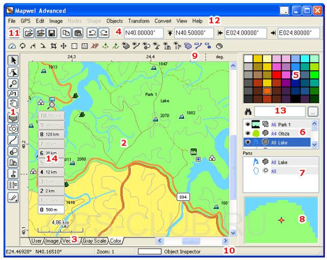 Как сделать карту программой