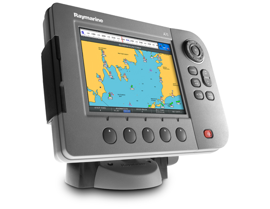 Fish finder chartplotter radar combo