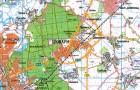 Топографические карты областей Украины. Новые топографические карты масштаба 1:200000