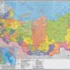 Подробные карты автомобильных дорог России (атлас автомобильных дорог), все города, бласти, автономные округа и республики.