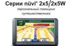 Инструкция к автонавигаторам Garmin nuvi 205/215/255/265/275