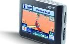 GPS навигатор Acer V200