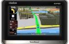 Автонавигатор Clarion MAP780
