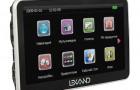 GPS навигатор Lexand ST-570 серия Style
