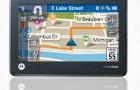 GPS навигатор Motorola MOTONAV TN 565T