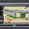 GPS навигатор NEC GPS 433B