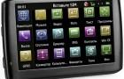 GPS навигатор teXet TN-610 Voice A5