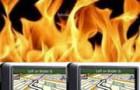 Suzuki отзывает более 20000 машин из-за риска возгорания навигационных GPS систем Garmin