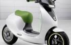 Escooter – концепт нового экологичного скутера от Smart