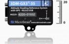 MicroStrain совмещает сверхмалую систему AHRS с GPS для точной навигации