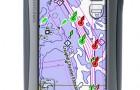 Портативный GPS навигатор Oregon 400c